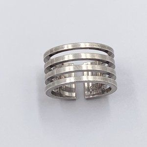 Authentic Gucci 925 Silver Ring Size 5